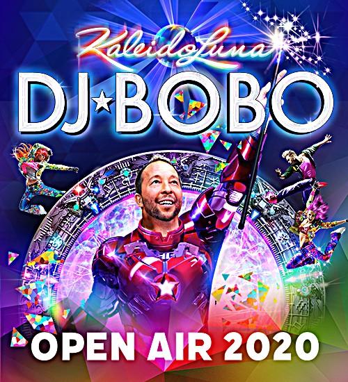 DJ BoBo - KaleidoLuna Open Air 2021 - Gießen