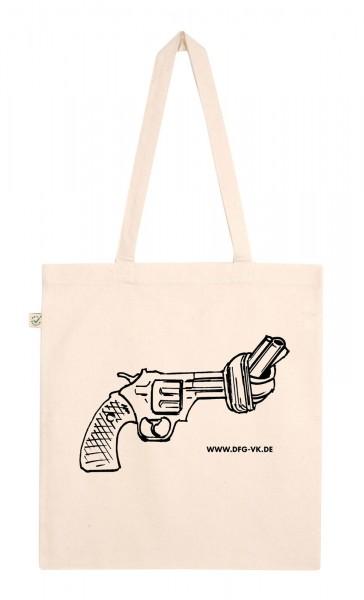 Baumwolltasche Pistole