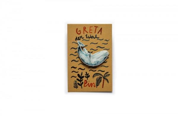 Pin Greta der Wal