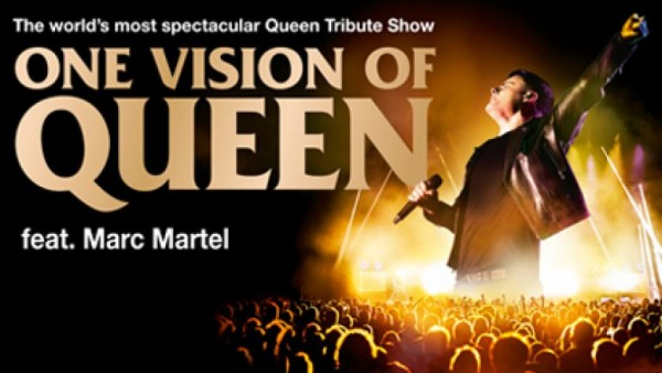 One Vision of Queen feat. Marc Martel (Achtung: neuer Termin: 27.02.2022)
