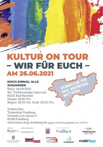 KULTUR ON TOUR - WIR FÜR EUCH -