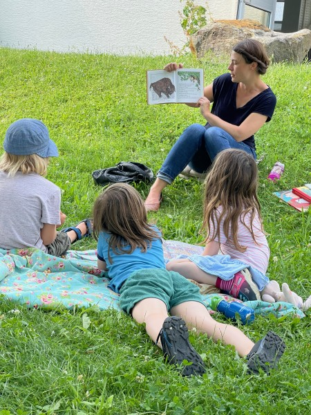 dasgute.haus Vorlesestunde: Sprechende Tiere und tierische Sprache