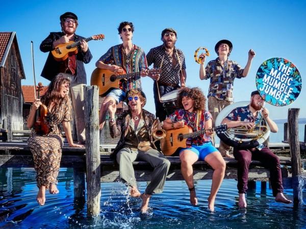 The Magic Mumble Jumble - Internationale Folk/Pop Band aus den Niederlanden
