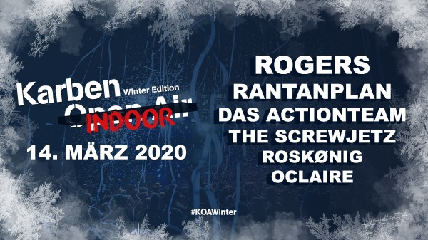 Karben Open Air Winter Edition Indoor 2020